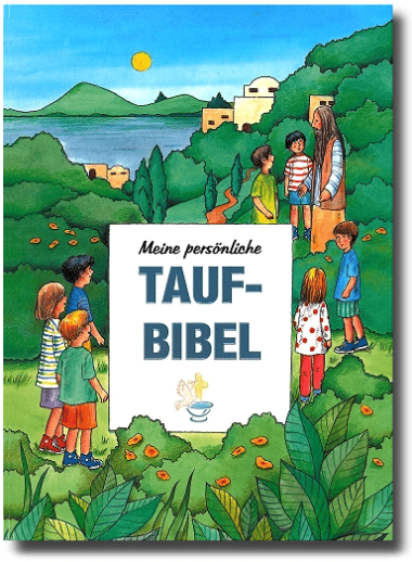 Personalisierte Taufbibel