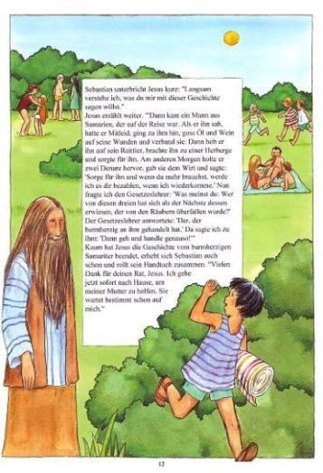 Markus 10 13 16 Kinderbibel