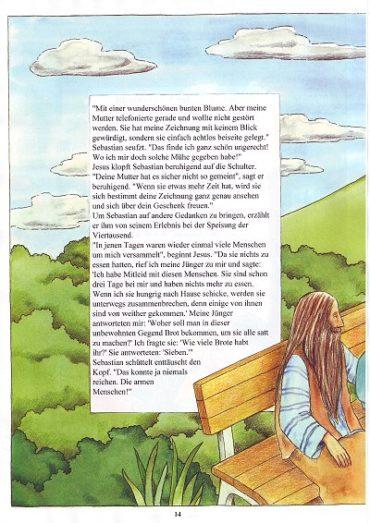 Seite 14 der Taufbibel