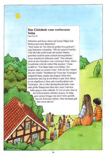 Seite 16 der Taufbibel