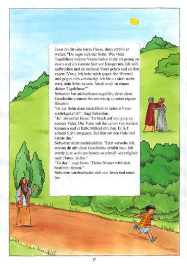 Seite 17 der Taufbibel