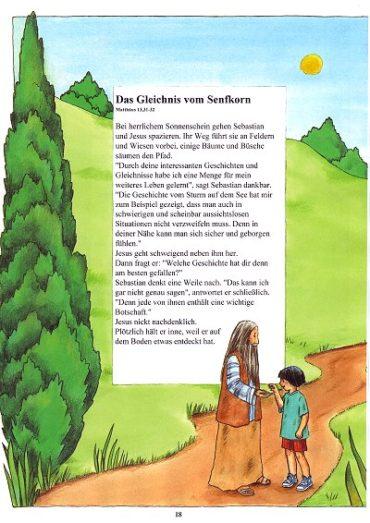 Seite 18 der Taufbibel