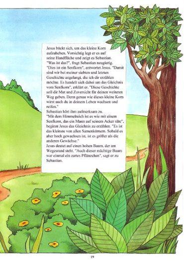Seite 19 der Taufbibel