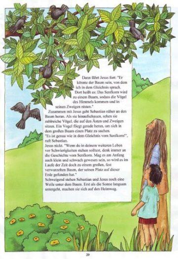 Seite 20 der Taufbibel