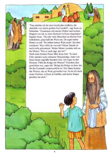 Taufbibel Seite 9
