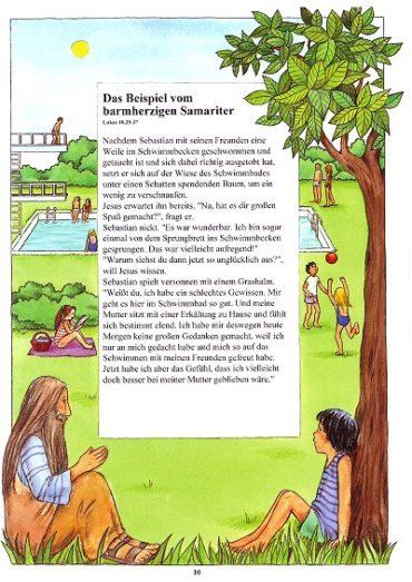 Seite 10 der Taufbibel