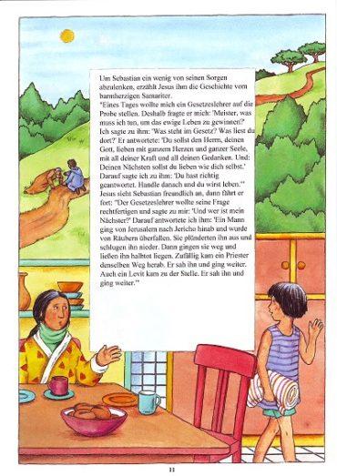Seite 11 der Taufbibel