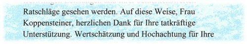 """Danke Buch Textausschnitt: Personalisierung in der förmlichen Anrede (""""Siezen"""")"""