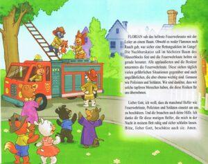 Kindergebetsbuch Gott liebt mich - Doppelseite