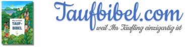 Logo taufbibel.com - personalisierte Taufbibel oder Kinderbibel